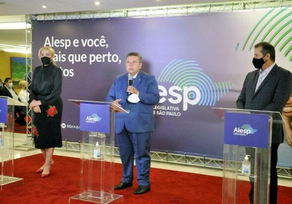Doação da Alesp ao Fundo Social de Solidariedade do Estado de São Paulo - Gerson Nichollas - Foto: Carol Jacob e Marco Antonio Cardelino