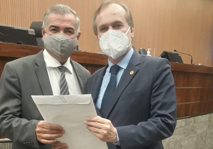 Marcos Caetano e Dirceu Dalben