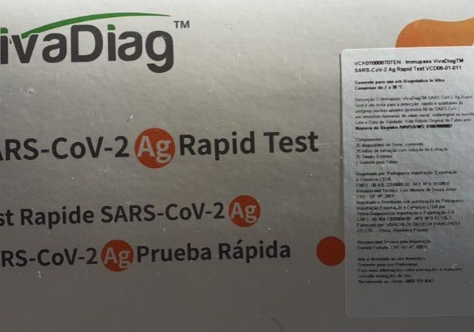 Teste Rápido Antígeno